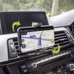 Keep your phone close at hand and safely in view while driving and having an unobstructed view of the road with the inVENT Nova Universal Air Vent Holder with one hand mounting & dismounting. Tight grip, good movement and ideal for most phones.