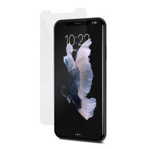 Spécialement conçue pour iPhone X, la protection d'écran Moshi AirFoil transparente offre une protection ajustée et idéale pour préserver l'écran de votre smartphone. Une fois appliquée, l'écran de votre iPhone X est protégé contre les dommages accidentels tout étant parfaitement transparent et celui-ci préserve toute sa sensibilité tactile.