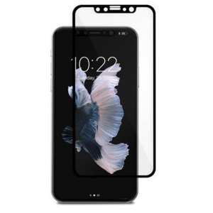 Designed for the iPhone X, the black IonGlass Glass Screen Protector from Moshi has been designed to protect your display while ensuring the iPhone screen maintains the highest possible level of fingertip sensitivity and clarity.
