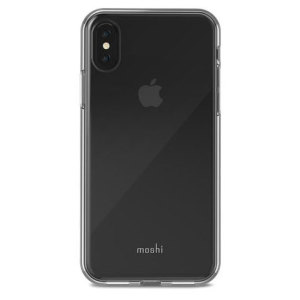 Safeguard your brand new iPhone X from shocks, scrapes and drops while maintaining Apple's signature design with the clear Vitros case from Moshi.