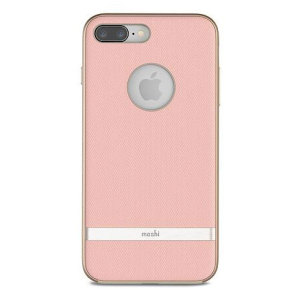 The blossom pink Vesta case from Moshi adds not only premium military-grade drop protection to your iPhone 8 Plus, but also a wonderfully idiosyncratic vintage fabric effect complemented by a metallic frame. Form meets function in this elegant cover.