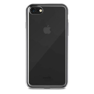 Safeguard your brand new iPhone 8 from shocks, scrapes and drops while maintaining Apple's signature design with the clear and black Vitros case from Moshi.