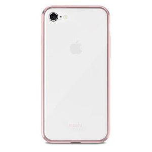 Proteja su nuevo iPhone 8 de golpes, rasguños y caídas mientras mantiene el diseño de firma de Apple con la funda Vitros de Moshi.
