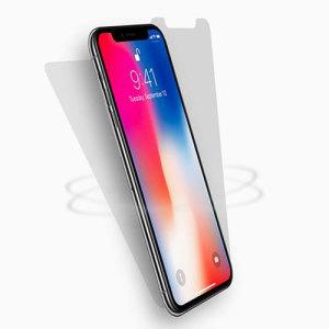Préservez l'écran de votre iPhone X dans un état irréprochable à l'aide de ce pack protection d'écran 2-en-1 Cygnett Halo 360. Ce pack comprend une protection d'écran avant et une protection d'écran arrière afin de protéger les deux côtés de votre iPhone X.