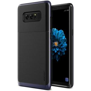Protect your Samsung Galaxy Note 8 with this precisely designed high pro shield series case in orchid grey from VRS Design. Made with tough dual-layered yet slim material, this hardshell body with a sleek bumper features an attractive two-tone finish.