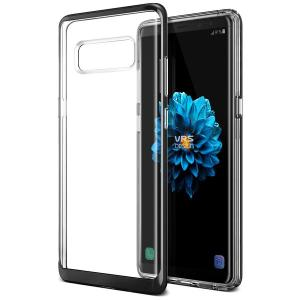 Protect your Samsung Galaxy Note 8 with this precisely designed crystal / jet black case from VRS Design. Made with a sturdy yet minimalist design, this see-through case offers protection for your phone while still revealing the beauty within.