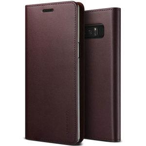 Protégez votre Samsung Galaxy Note 8 à l'aide de cette superbe housse à rabat VRS Design Leather Diary en cuir véritable et en coloris vin rouge. Fabriquée à partir d'un cuir véritable, la housse Samsung Galaxy Note 8 VRS Design Leather Diary mélange style, protection et séduction.