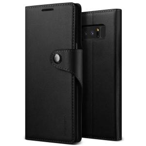 Protect your Samsung Galaxy Note 8 with this precisely designed flip clasp case in black from VRS Design. Made with premium leather-style materials, the VRS Design Daily Diary oozes style and attractiveness.