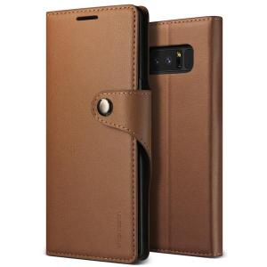 Protect your Samsung Galaxy Note 8 with this precisely designed flip clasp case in brown from VRS Design. Made with premium leather-style materials, the VRS Design Daily Diary oozes style and attractiveness.