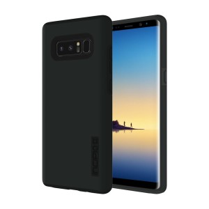 The Incipio DualPro in black wraps your Samsung Galaxy Note 8 in 2 layers of protection, first of which being a strong silicone core and the second being a colourful hard shell outer cover.