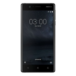 Unlocked 16GB Nokia 3 in black. With a 5.0 inch display featuring a 720x1280 resolution, 8MP camera and running Android - this Nokia smartphone is ready for anything you can throw at it!