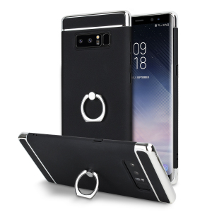 Custom made for the Samsung Galaxy Note 8, this black and silver XRing case from Olixar provides excellent protection and a handy finger loop to keep your phone in your hand, whether from accidental drops or attempted theft.