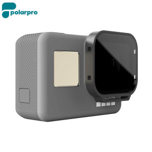 The PolarPro Polarizer filter for the GoPro Hero5 enhances your video by reducing glare from water and snow, while incrasing the colour saturation and contrast for a more vibrant and realistic image.