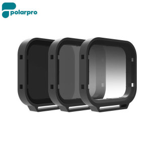 Compatible with the GoPro Hero5, this fantastic 3 pack of filters takes your action camera footage to a whole new level. The ultimate above water kit, this pack includes a Polarizer, Neutral Density and Gradient ND filter.