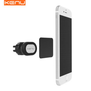 Mount your smartphone easily on your car's vents via the power of magnets with the Kenu Airframe Magnetic Air Vent Mount. This universal magnetic car mount even works with many cases, allowing you to keep your phone protected while you drive.