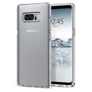 Durable and lightweight, the Spigen Liquid Crystal series for the Samsung Galaxy Note 8 offers premium protection in a slim, stylish package. Carefully designed, the Liquid Crystal case is form-fitted for a perfect fit.