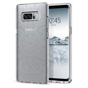 Durable and lightweight, the Spigen Liquid Crystal Shine series for the Samsung Galaxy Note 8 offers premium protection in a slim, form-fitting, stylish package with a subtle but beautiful pattern overlay to accentuate your phone's own dynamic beauty.