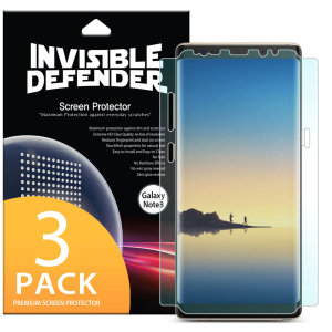 A multi-layered optical enhanced high definition twin screen protectors for the Samsung Galaxy Note 8. Features new 'TouchTech' properties for a natural touch and allows for perfect touch screen precision.