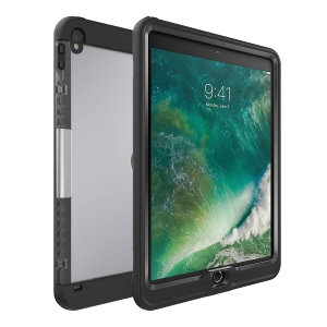 The Lifeproof cover stand in black attaches perfectly to the iPad Pro 10.5 when encased in a Lifeproof nuud case. With a smooth leather-style finish, a soft touch inner and media viewing stand.