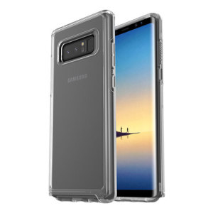 The dual-material construction makes the Symmetry clear case for the Samsung Galaxy Note 8 one of the slimmest yet most protective case in its class. The Symmetry series has the style you want with the protection your phone needs.