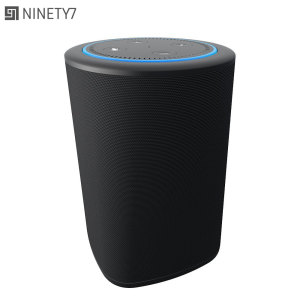 Supercharge the already-impressive sound of your Amazon Echo Dot with the Ninety7 Vaux Bluetooth speaker and dock. Simply slot the Echo Dot into the sturdy, robust dock on the Vaux and enjoy rich, booming sound. Also features 3.5mm port for audio devices.
