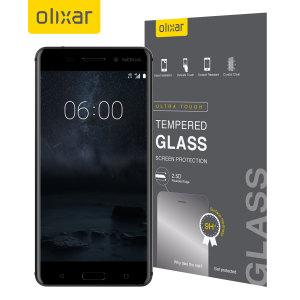 Este protector de cristal templado fabricado por Olixar es realmente ligero, delgado y protector para mantener la pantalla de su Nokia 6 prácticamente como el primer día.
