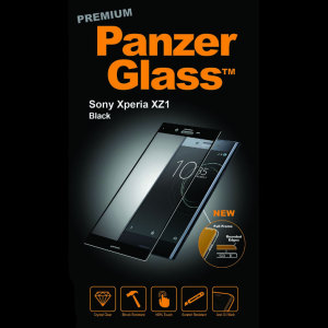 Introducing the premium range PanzerGlass glass screen protector in black. Designed to be shock and scratch resistant, PanzerGlass offers the ultimate protection, while also matching the colour of your stunning Sony Xperia XZ1.