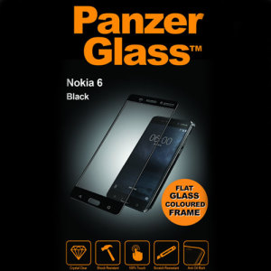 PanzerGlass Glass Screen Protector is the best way to keep your Nokia 6 protected from bumps and scratches. Designed to be fingerprint resistant, allowing crystal clear view of your display. Ultimate protection for your Nokia 6 in a matching black colour.