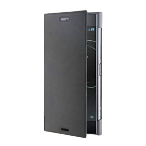 "This ""Made for Xperia"" black premium book case by Roxfit holds the Sony Xperia XZ1 within a form fitting frame, crafted from an ultra-high quality slim shell and featuring a super-slim front flap. Also features a convenient inner card slot."