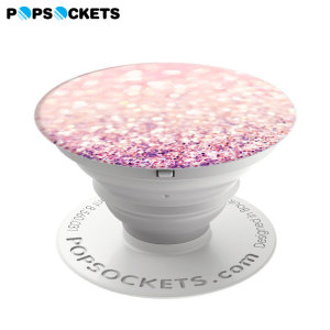 Who said pop is dead? Super-sleek, compact and convenient, this expanding stick-on accessory for all smartphones in blush pink props up your device so you don't have to. Simply stick PopSockets to the back of your phone, then pull outwards.
