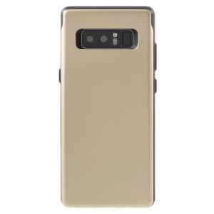 Diese für das Samsung Galaxy Note 8 designte silberne Kartenhülle von Mercury bietet eine perfekte Passform und dauerhaften Schutz gegen Kratzer, Stöße und Stürze mit dem zusätzlichen Komfort eines Kreditkarten Steckplatzes.