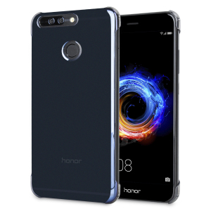 This official Huawei clear and black protective case for Honor 8 Pro offers excellent protection while maintaining your device's sleek, elegant lines. Reinforced corners provide extra shock absorption.
