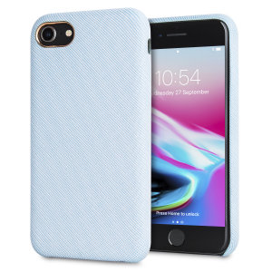 Protect your iPhone 8 in style with the LoveCases Pretty in Pastel cover in blue. A stylish, sleek denim fabric design meets a hard-wearing, durable frame to create a case that's not only highly fashionable, but highly protective, too.