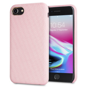 Protect your iPhone 8 in style with the LoveCases Pretty in Pastel cover in pink. A stylish, sleek denim fabric design meets a hard-wearing, durable frame to create a case that's not only highly fashionable, but highly protective, too.