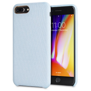 Protect your iPhone 8 Plus in style with the LoveCases Pretty in Pastel cover in blue. A stylish, sleek denim fabric design meets a hard-wearing, durable frame to create a case that's not only highly fashionable, but highly protective, too.
