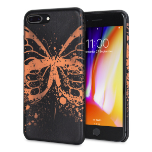 Enhance and protect your iPhone 8 Plus / 7 Plus with this gorgeous unique case from LoveCases. Your iPhone fits perfectly into the secure, lightweight frame, while a beautiful butterfly pattern emerges when heat is transferred from your hand to the case.