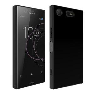 Die speziell angepasste Sony Xperia XZ1 Compact Hülle bietet Schutz ohne das schicke Design des Smartphones zu zerstören.