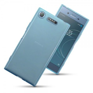 Custom moulded for the Sony Xperia XZ1, this blue Olixar FlexiShield case provides a slim fitting stylish design and durable protection against damage, keeping your device looking great at all times.
