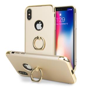 Op maat gemaakt voor de iPhone X, deze X-Ring case van Olixar biedt uitstekende bescherming en een handige vingerlus om je telefoon in de hand te houden, of het nu gaat om een val of een poging tot diefstal.