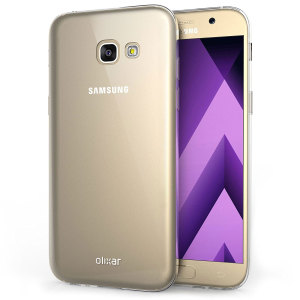 Custom moulded for the Samsung Galaxy A3 2017. This clear Olixar FlexiShield case provides a slim fitting stylish design and durable protection against damage, keeping your device looking great at all times.