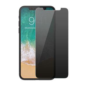 Voici la nouvelle protection iPhone X Patchworks ITG Privacy en verre trempé avec filtre de confidentialité. Conçue pour résister à la fois aux chocs et aux rayures, elle est une solution optimale au quotidien pour préserver l'écran de votre smartphone à l'abri des dommages accidentels.