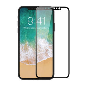 This ultra-thin full cover tempered glass screen protector for the iPhone X from Patchworks offers toughness, high visibility and sensitivity all in one package. Features complete edge to edge screen protection.