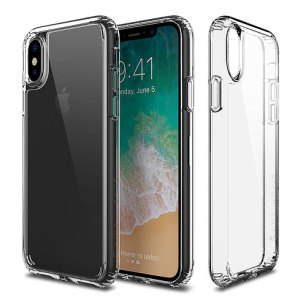 Custom moulded for the iPhone X. This crystal clear Patchworks Lumina case provides a slim fitting stylish design and reinforced protection against damage, keeping your device looking great at all times.