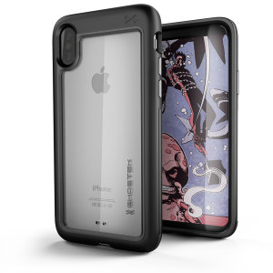 Equip your iPhone X with the most extreme and durable protection around. The black Ghostek Atomic provides rugged drop and scratch protection whilst keeping the phone slim.
