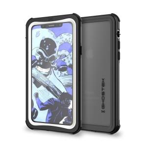 Mantenga perfectamente protegido su iPhone X con esta increíble funda Nautical Series Waterproof de Ghostek. Podrá sumergir su dispositivo hasta 1 metro durante un máximo de 30 minutos.