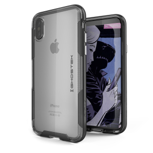 The Cloak 3 Protective case in black and clear from Ghostek provides your iPhone X with fantastic all round protection without hiding any of its beauty and style.