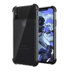 Die Covert 2 schützende Stoßfänger Hülle in schwarz und klar von Ghostek bietet Ihrem iPhone X fantastischen Schutz, während sein hervorragendes Design hervorgehoben wird. Verstärkte Ecken sorgen für zusätzlichen Fallschutz für solch ein schlankes Gehäuse.
