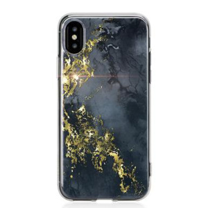 Sporting a rich, textured aesthetic and lending ample protection to your iPhone X with a hybrid construction, this onyx design case from Bling My Thing is a truly indulgent way to defend your iPhone from life's trials and tribulations.