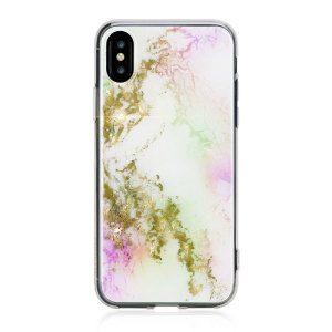 Sporting a rich, textured aesthetic and lending ample protection to your iPhone X with a hybrid construction, this unicorn design case from Bling My Thing is a truly indulgent way to defend your iPhone from life's trials and tribulations.