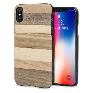 Presenting the Sabbia design. A beautiful genuine wood case for your iPhone X. Selected premium woods from sustainable sources are crafted into a form-fitting case for your phone that is as stunning as it is protective.